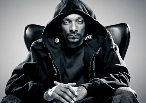 "**UK SELLER** Snoop Dogg Portrait Large 24/""x 33/"" A1 Size Glossy Poster"