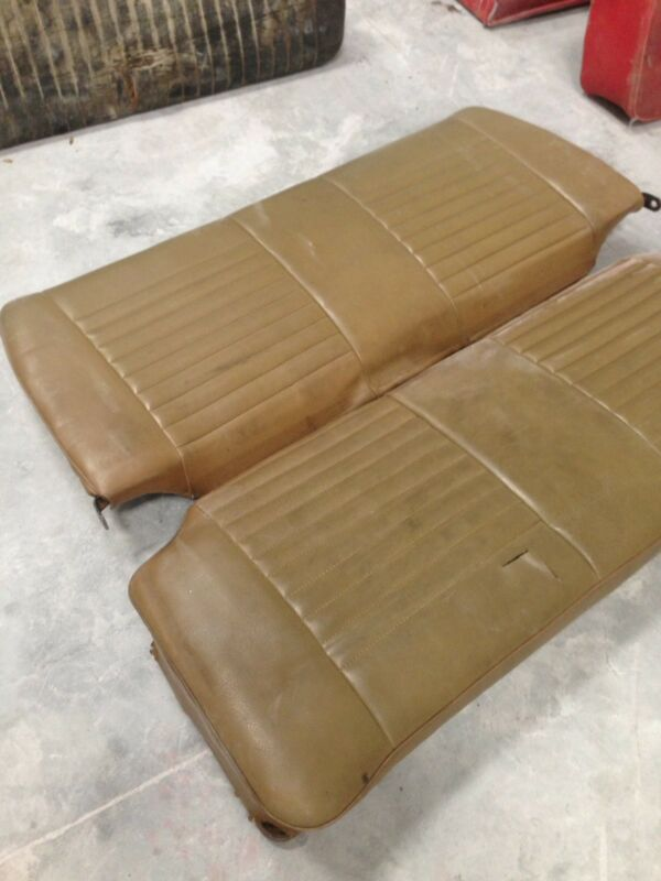 Beetle rear seats