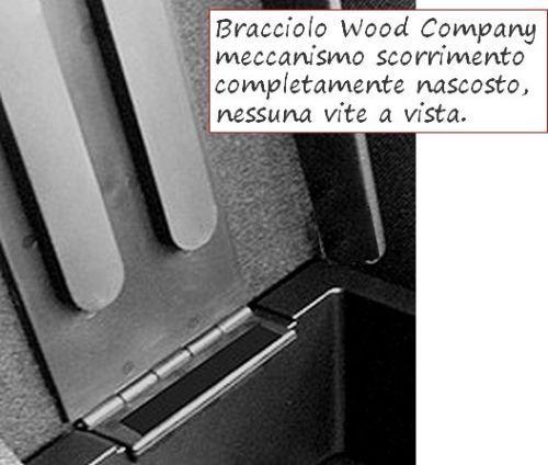 PREMIUM BRACCIOLO SMART New fortwo forfour REGOLABILE nero CUCITURE BIANCHE