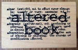 Image Is Loading Altered Book Catslife Press Rubber Stamp Definition