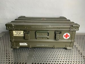 BUNDESWEHR-ZARGES-A5-ALU-BOX-KISTE-60L-60x40x25-LAGER-BEHALTER-ARMY-CASE-BW-BUND