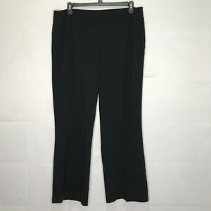 Investments-Black-Stretch-Dress-Pants-Wide-Leg-Plus-sz-18W-High-Waist