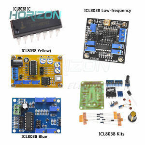 ICL8038 Function Signal Generator IC DIY Sine Square Triangle Wave DDS ATF