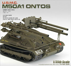 1-35-U-S-M-C-M50A1-ONTOS-13218-ACADEMY-MODEL-HOBBY-KITS