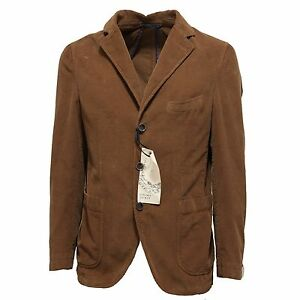 outlet competitive price fashion Details about 7449L giacca uomo marrone verde PANAMA JACKET cotone velluto  giacche coats men