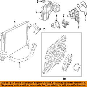 Chrysler Oem Radiator Coolant Lower Hose 4598096ah Ebay