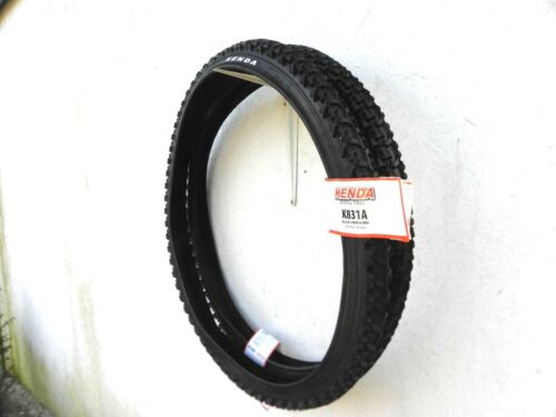2 X Kenda Reifen Mountainbik 26x2,10-54-559 Fahrrad Reifen SCHWARZ Reifen 04231