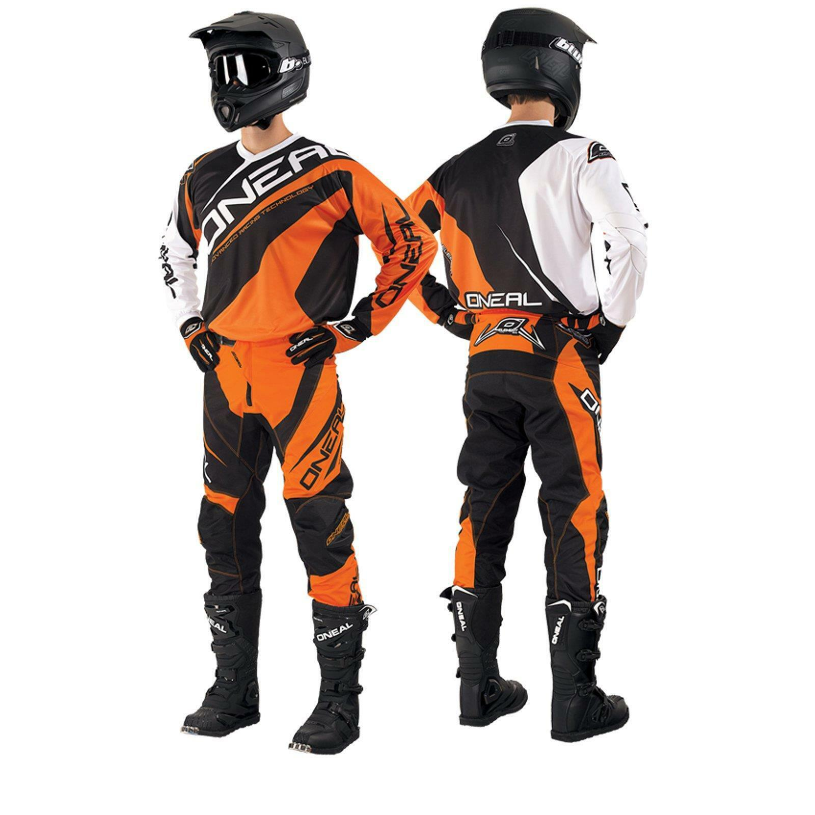 ONeal Element Orange Combo Set Hose Shirt Handschuhe DH MTB FR Fahrrad Freeride    Sorgfältig ausgewählte Materialien