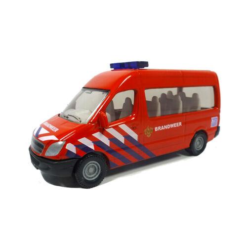 "Modellauto NEU ° Siku 0808 Mercedes Benz Sprinter /""Brandweer/"" rot Blister"