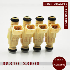 4pcs Fuel Injector 35310-23600 for Hyundai Elantra Santa Fe Kia Optima Rondo 2.7