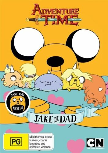 1 of 1 - Adventure Time: Jake the Dad (With Jake Hat) (Collection 5  - DVD -  Region 4