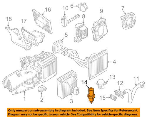 JAGUAR OEM 00-08 S-Type-Outside Air Ambient Temperature Sensor XR858222