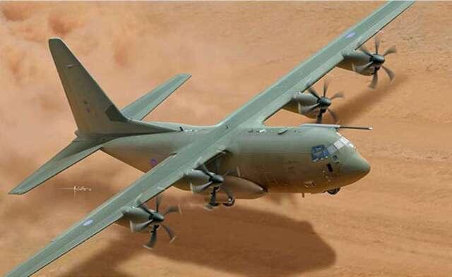 Italeri - 2746S 1/48 Hercules C-130J CS - Plastic Model 8001283027465