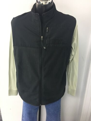 Harley Davidson Men/'s Mock Neck Full Zip Vest
