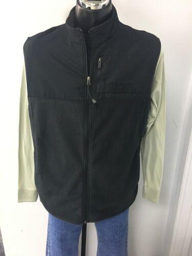 Harley Davidson Men/'s Mock Neck Full Zip Vest