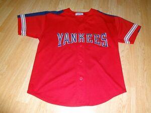 Details about Men s New York Yankees M Vintage Jersey Starter Alternate (Red)  Jersey 35c1dda9947