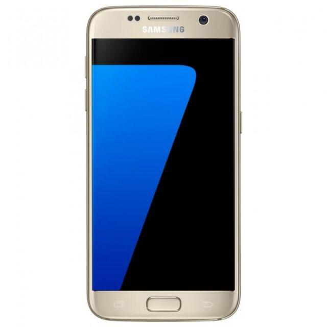 "5.1"" Samsung Galaxy S7 G930A 4G LTE 32GB 4GB RAM Radio Débloqué Téléphone Or"