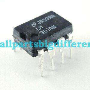 10PCS   LM301AN  LM-301AN  LM 301AN  DIP-8  Operational  amplifier  IC