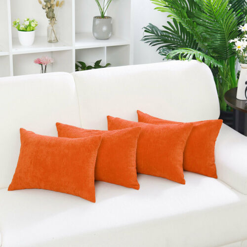 """Rectangle Pillow Cases Throw Pillow Cover Christmas Gift Cushion Cover 12/""""x 18/"""""""