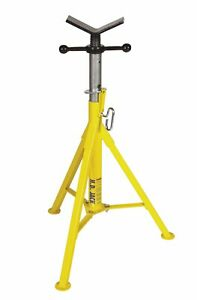 Pipe Jack Stands >> Details About New Sumner 780375 Hi Heavy Duty Pipe Jack Stand W Vee Head