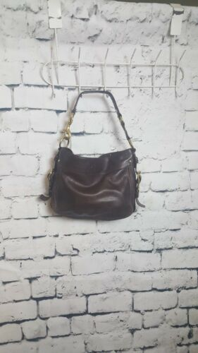 F0882 Braune Coach Handtasche 12671 Leather H4tYXXqwxW