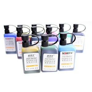 25ml-Refill-Alcohol-Ink-For-Refilling-POP-Poster-Advertising-Marker-Pen-8-Colors