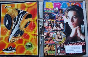 26x-Bravo-1998-komplett-Poster-Sticker-90er-Pop-Band-Zeitschrift-diCaprio-Pop