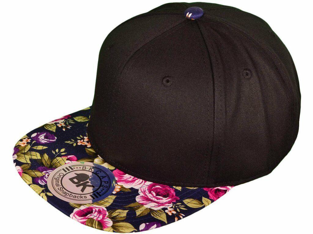 New Era NE400 Black Snapback Flat Bill Cap w//I Love Boobies Patch