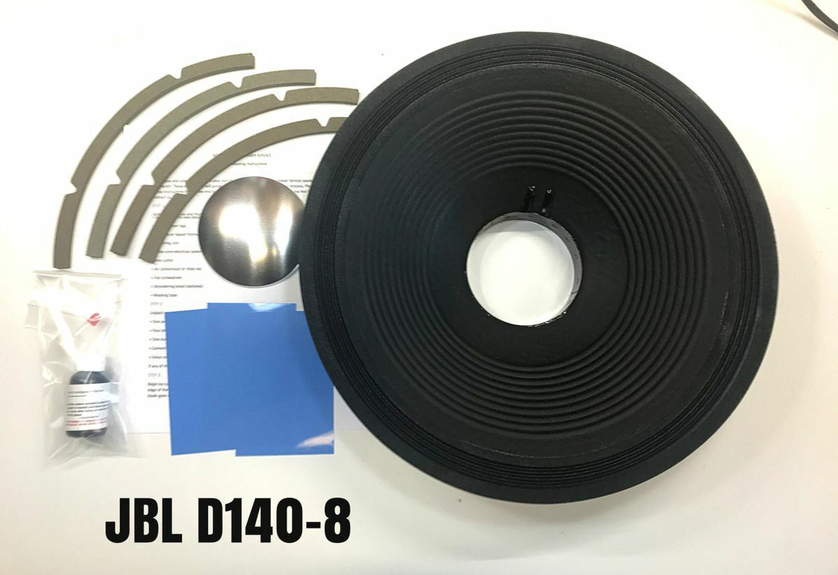 JBL, D140-8, Reproduction Drop In Recone Kit- 8 Ohms