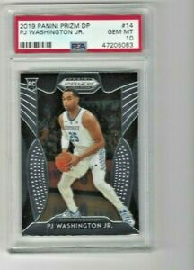 2019 Panini Prizm #14 PJ Washington Jr. RC Rookie PSA 10 Hornets