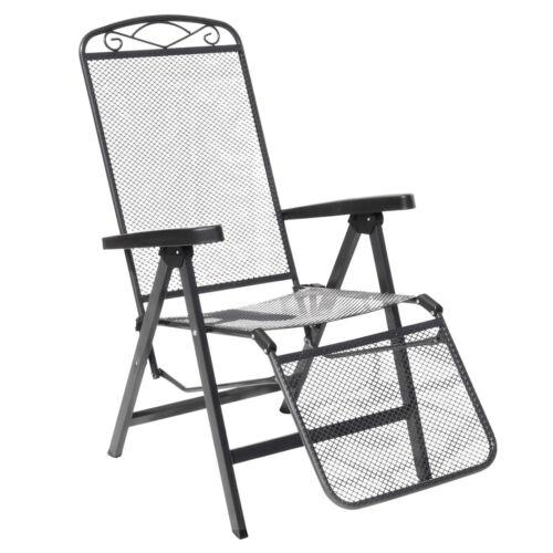 MFG Streckmetall relax poltrona sdraio sedia da giardino mobili da giardino lettino lettino resistente alle intemperie