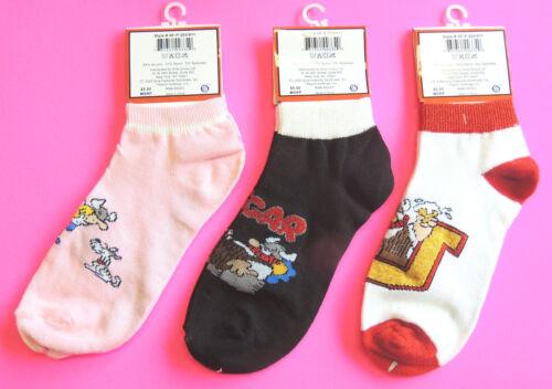 1 Pr Kid/'s Socks Cartoon Blondie Dennis-Menace Beetle Bailey Hagar-Horrible 9-11