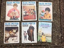 6 Blue Peter Mini  Books -Guide Dogs, Television,Teddy's clothes, Safari Morocco