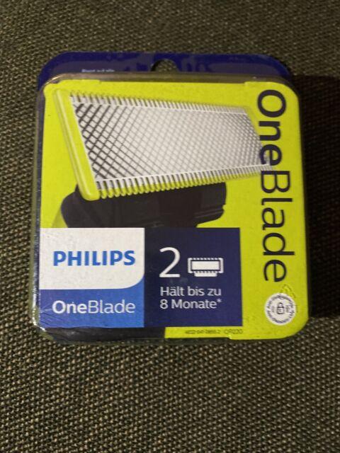 Philips One Blade 2 Klingen OVP