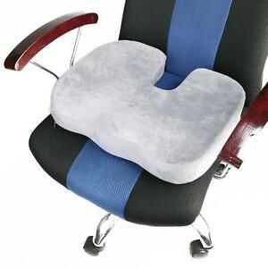 Comfort Memory Foam Seat Lumbar Cushion Office Chair Pads Car Flight Seat Tra