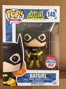 Funko Pop! la Batgirl di con BOOMERANG #148 2016 NEW YORK FUMETTI con NYCC esclusivo * nuova
