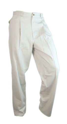 "Columbia Chino Mens Cotton Walking Hiking Camping Trousers Stone 32"" W"