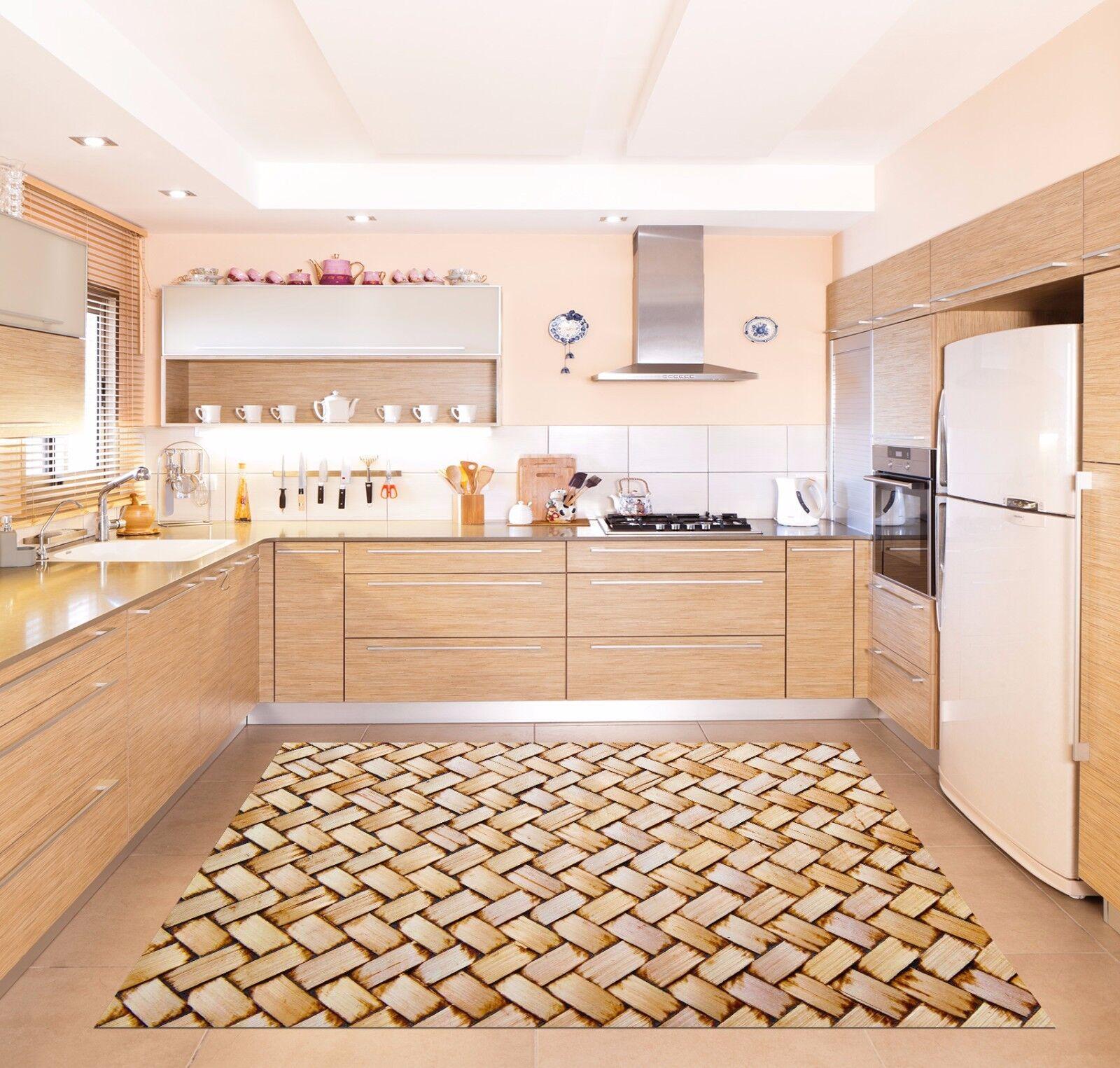 3D Plait Pattern Kitchen Mat Floor Murals Wall Print Wall Deco AJ WALLPAPER AU