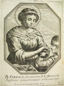 Fabiole Ou Fabiola Romaine Michiel Van Lochom à La Duchesse D'aiguillon 1639