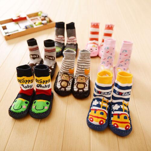 Toddler Warm Socks Anti-slip Cartton Sock Shoes Boots Floor Socks Baby Kids