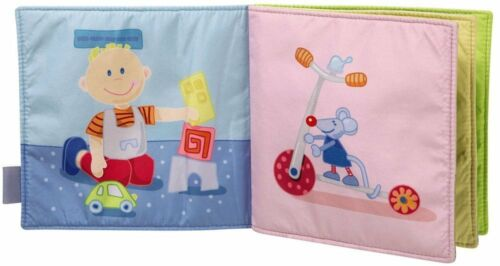 NWT Haba A Day With Lotta Fabric Book For Baby