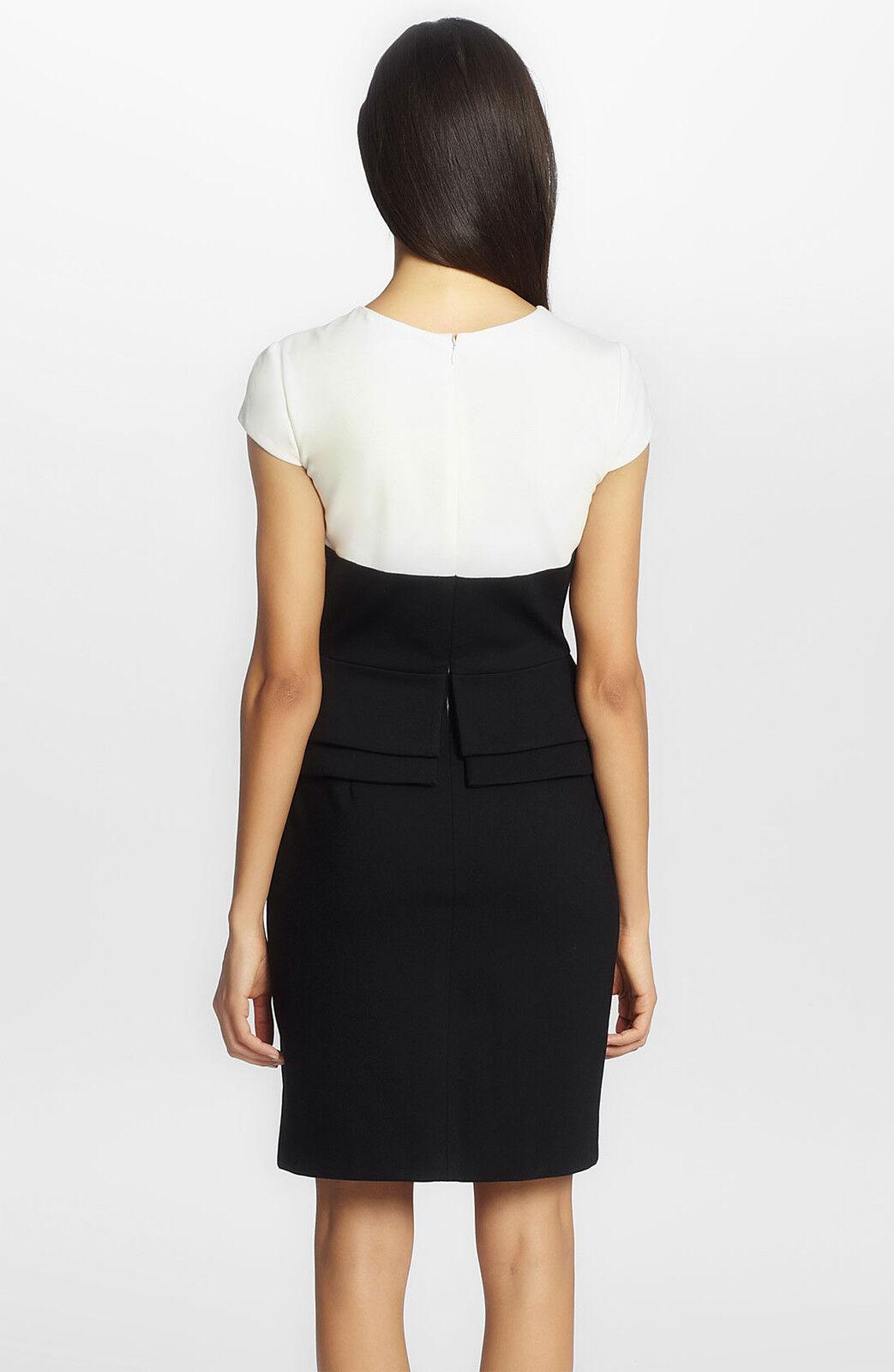 Cynthia Steffe Emily Ponte Peplum Peplum Peplum Dress (Size 6) e4e257