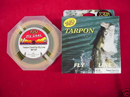 Rio Fly Line Tarpon WF12F Camo Tip GREAT NEW