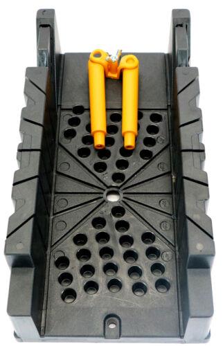 Pro Schneidlade Kunststoff Gehrungslade 325x165mm mit Haltenocken 22,5° 45° 90°