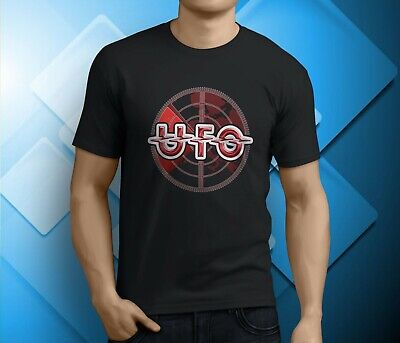 UFO The Rock Band Tees Black S-3XL Men/'s T-shirts