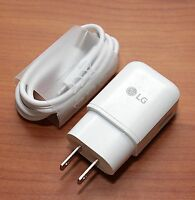 Lg Fast Adaptive Charger 1.8a For Lg V20 G5 Nexus 5x Usb To Type C Cable Genuine