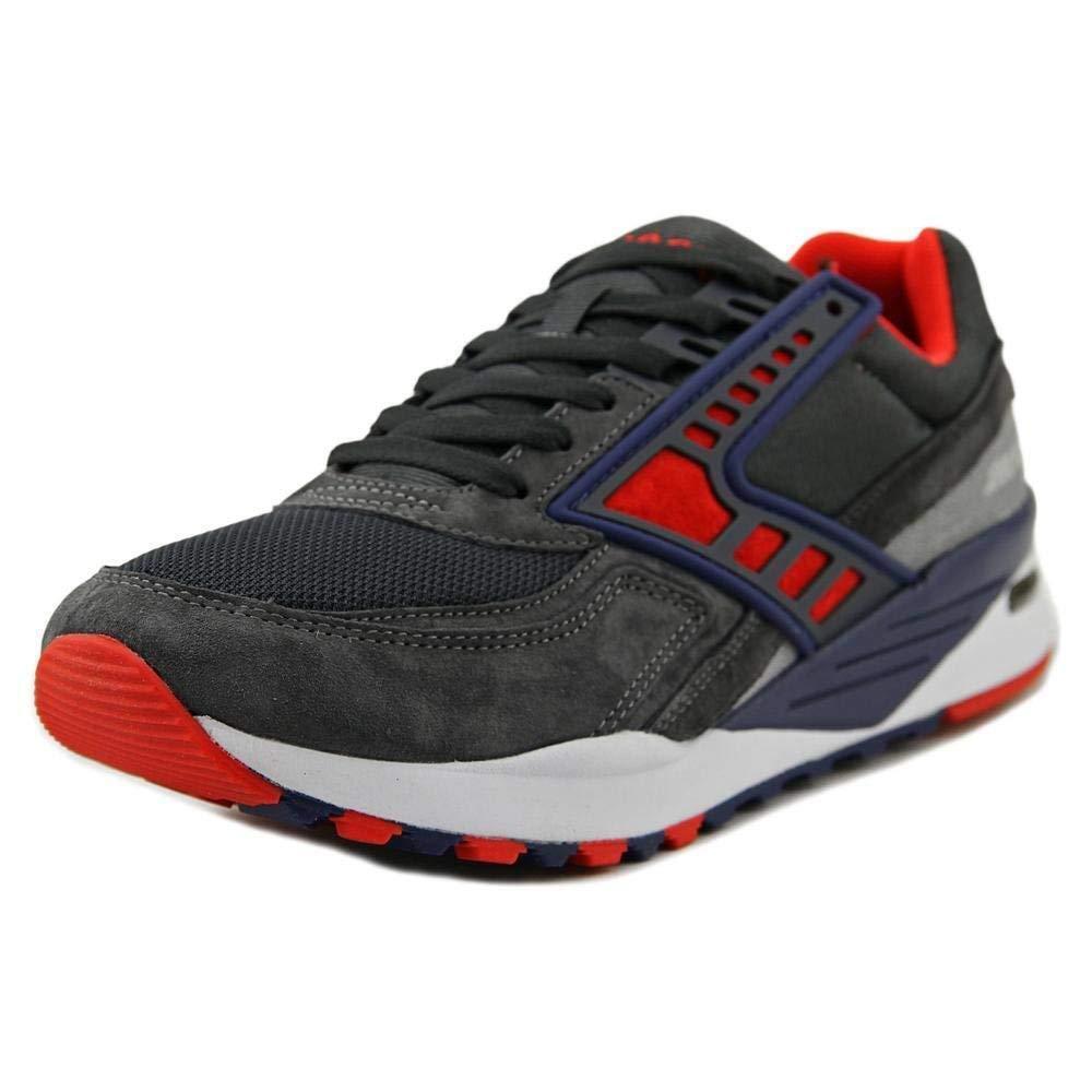 Brooks Heritage Men's Regent Anthracite High Risk Red Navy bluee Athletic shoes