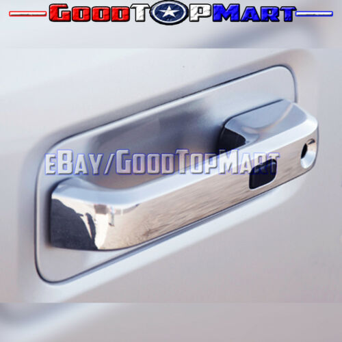 For Ford F150 2015 16 17 Chrome Coves Set Top Mirrors+4 Doors SMART Tail Lights