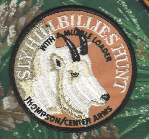 """Goat//Sheep 4/"""" Hunting Patch /""""Sly Hillbillies Hunt/"""" Thompson//Center Arms Mt"""