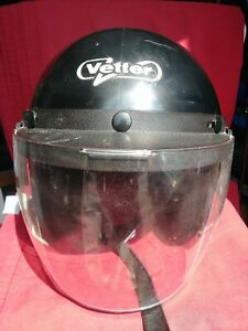 Vintage-Vetter-Classic-Bell-Helmet-Shield-mini-bike-motorcycle-snowmobile-Medium